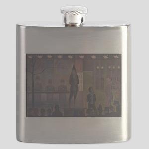 Circus Sideshow Flask