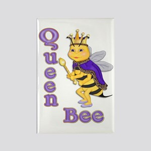 Queen Bee Rectangle Magnet