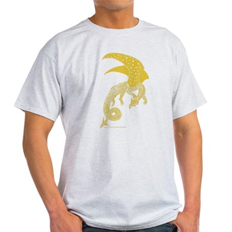Goldwinged Dragon Light T-Shirt