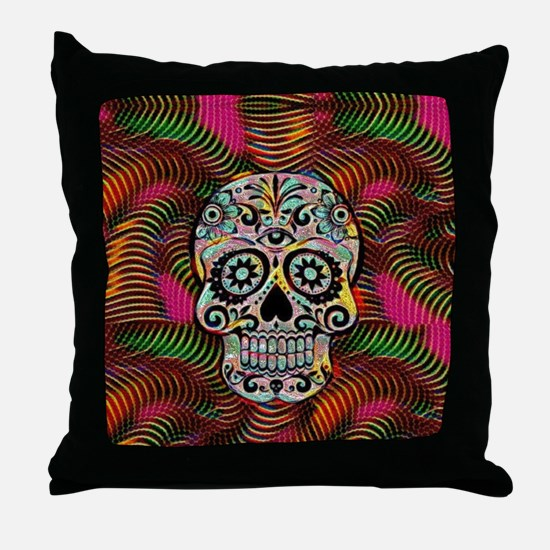 Unique Halloweens Throw Pillow