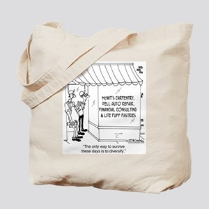 McWit's Carpentry & Lite Puff Pastries Tote Bag