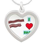 I love bacon Necklaces