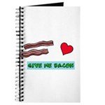 Give me bacon Journal