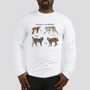 Lynxes of the World Long Sleeve T-Shirt