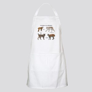 Lynxes of the World Apron