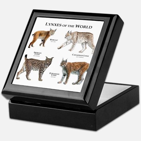 Lynxes of the World Keepsake Box