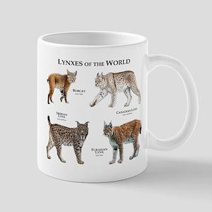 Lynxes of the World Mug
