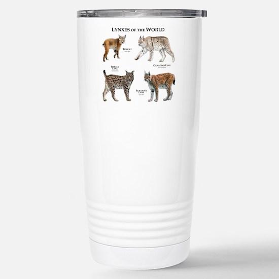 Lynxes of the World Stainless Steel Travel Mug