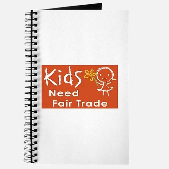 """""""Fair Trade Kids"""" Journal"""