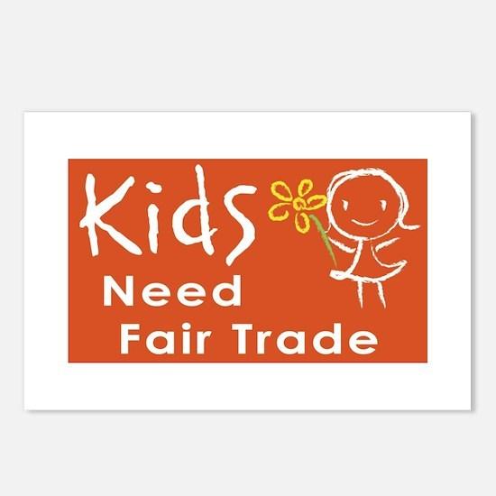 """Fair Trade Kids"" Postcards (Package of"