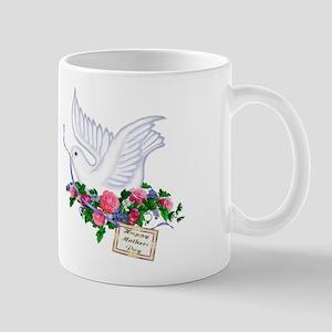 Dove & Flowers Mug