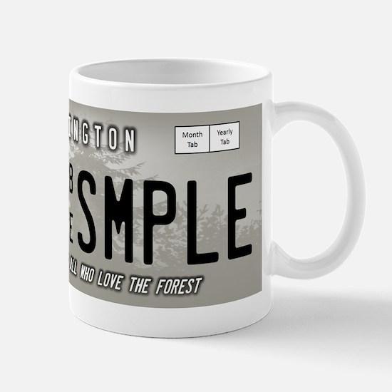 Bigfootology: Bigfoot Reseach License Plate Mugs