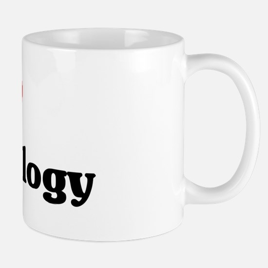 I Love Gerontology Mug