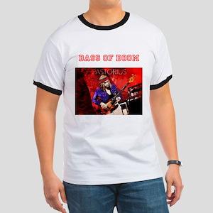 Jaco Red - Bass of Doom T-Shirt