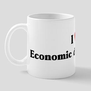 I Love Economic development Mug