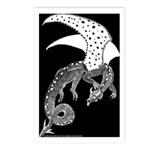 Whitewinged/Blackback Dragon Postcards (Package of