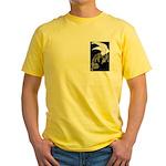 Whitewinged/Blackback Dragon Yellow T-Shirt