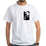 Whitewinged/Blackback Dragon White T-Shirt