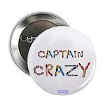 Captain Crazy Button 2.25