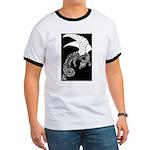 Whitewinged/Blackback Dragon Ringer T