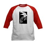 Whitewinged/Blackback Dragon Kids Baseball Jersey