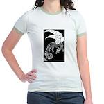 Whitewinged/Blackback Dragon Jr. Ringer T-Shirt