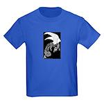 Whitewinged/Blackback Dragon Kids Dark T-Shirt