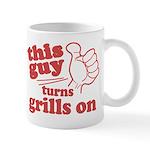 This Guy Turns Grills Mugs