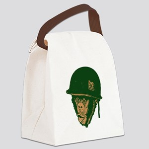 Monkey Canvas Lunch Bag