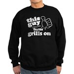 This Guy Turns Grills On Sweatshirt