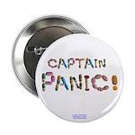Captain Panic! Button 2.25