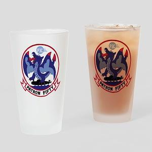 VP 50 Blue Dragons Drinking Glass