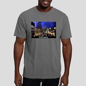 Chicago Cityscape Mens Comfort Colors Shirt
