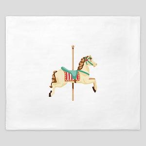 Carousel Horse King Duvet