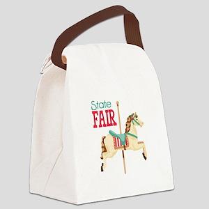 State Fair Canvas Lunch Bag