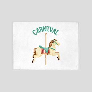 Carnival 5'x7'Area Rug