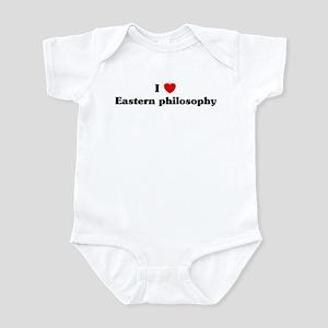 I Love Eastern philosophy Infant Bodysuit