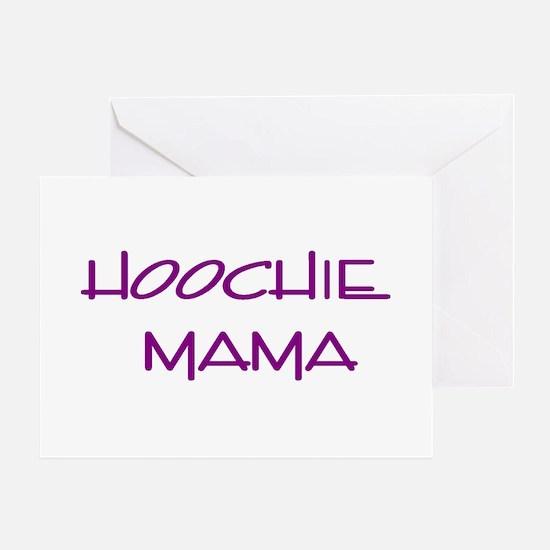 Hoochie Greeting Cards