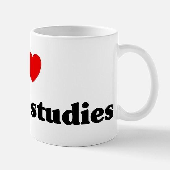 I Love Gender studies Mug
