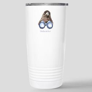 Birdwatcher Bird Watching You Humor Travel Mug