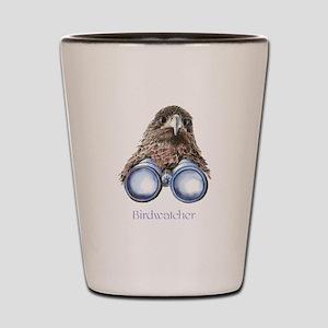 Birdwatcher Bird Watching You Humor Shot Glass