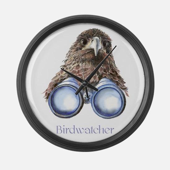 Birdwatcher Bird Watching You Humor Large Wall Clo