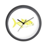 Orangespotted Trevally Wall Clock