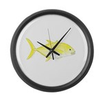 Orangespotted Trevally Large Wall Clock
