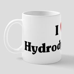 I Love Hydrodynamics Mug
