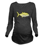 Orangespotted Trevally c Long Sleeve Maternity T-S