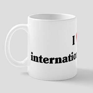 I Love international studies Mug