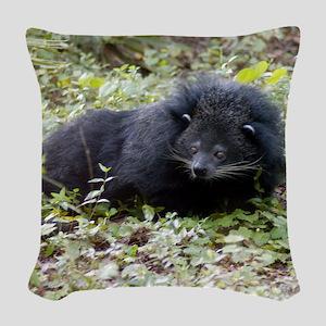 Bearcat Binturong Woven Throw Pillow