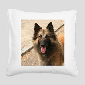 Belgian Shepherd Dog (Tervuren) Square Canvas Pill