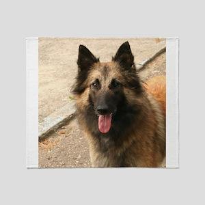 Belgian Shepherd Dog (Tervuren) Throw Blanket